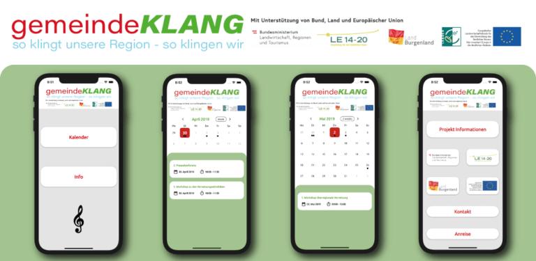 gemeindeKLANG App Showcase